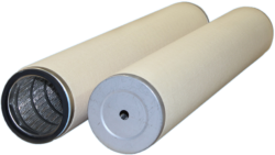 Filter cartridges with open and closed ends