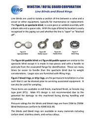 Line Blinds and Bleed Rings brochure