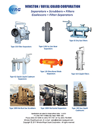 Separator, Coalescer, Filter - All Products brochure