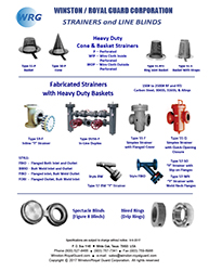 Strainer & Line Blind - All Products brochure