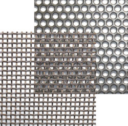 Strainer basket screen selection