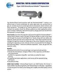 Type 120 Directional Blade Separator brochure