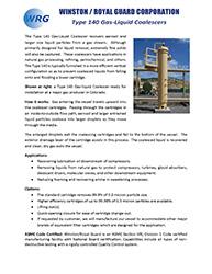 Type 140 Gas-Liquid Coalescer brochure