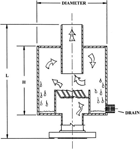 Type 209-DB Exhaust Head diagram