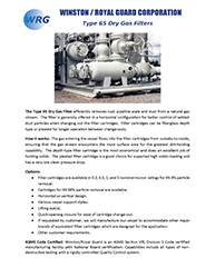Type 65 Dry Gas Filter brochure