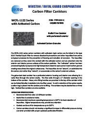 WCFL-1122 Carbon Canister for Type 61V-C brochure