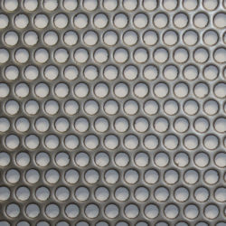 strainer basket perforated material